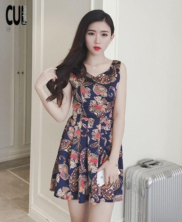 Đầm Xòe Croptop