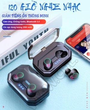 Tai Nghe Bluetooth Asonic X9 Plus – 120 giờ nghe nhạc